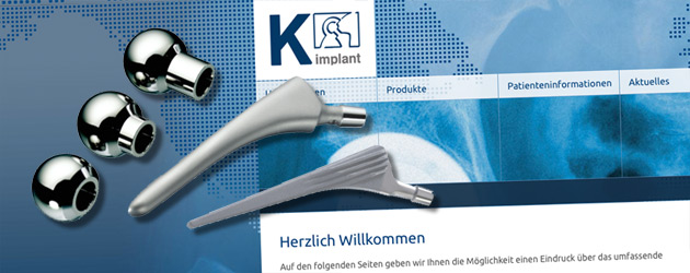 K-Implant – Endoprothethik made in Germany