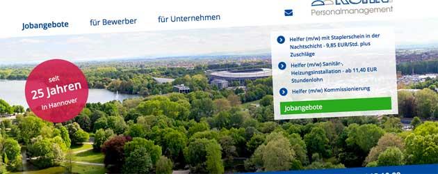 Voll beschäftigt: Kuhn Personalmanagement