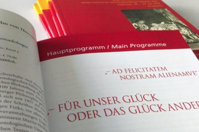Eine Programmbroschüre für den X. Internationalen Leibniz-Kongress Abbildung