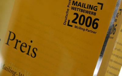 Gewinner im Mailing-Wettbewerb der Deutschen Post Abbildung