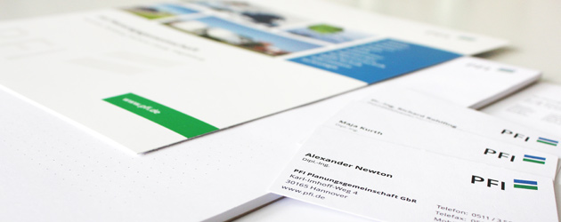 Das Thema: Wasser, Abwasser, Schlamm – Die Aufgabe: Ein neues Corporate Design.