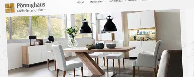 Pönnighaus – Möbel mit Stil, Möbel nach Maß