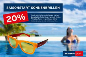 Plakatwerbung Karstadt Sports Münster