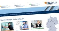 Racoon Gebäudemanagement Website-Referenz
