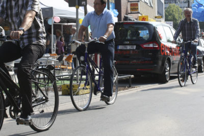 Die Fahrradstraße »Lange Laube« ist eröffnet! Abbildung