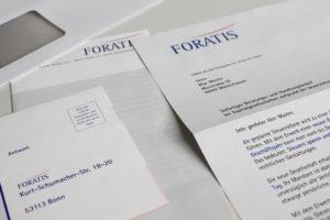 Foratis Mailing
