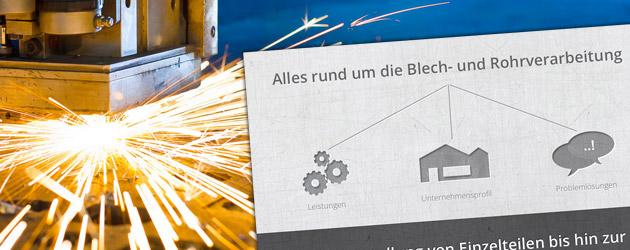 Blech- und Rohrverarbeitung per Laser