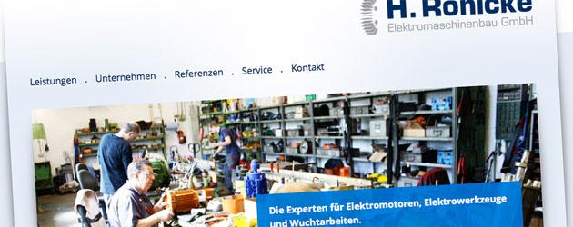 H. Rönicke Elektromaschinenbau GmbH