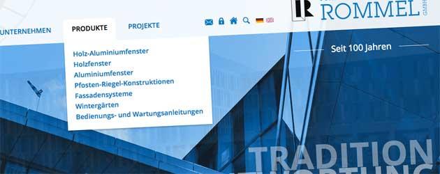 Fenster- und Fassadenbau Rommel