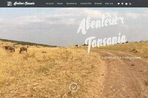 Website Referenz Abenteuer Tansania