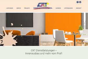 Website Referenz CRT-Dienstleistungen