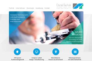 Website Referenz Dental Technik Urbaniak