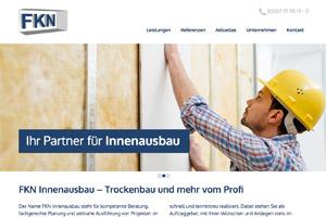 Website-Referenz FKN Innenausbau