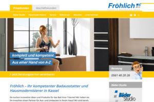 Website-Referenz Fröhlich Fliesen