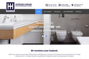 Website Referenz Hermann Hamann