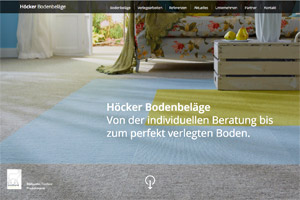 Website Referenz Höcker Bodenbeläge