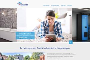 Website Referenz Komarek
