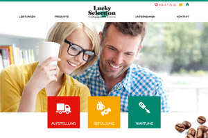 Website-Referenz Lucky Selection