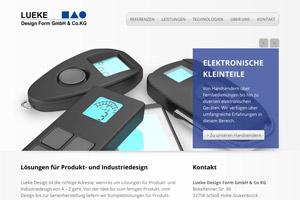 Website Referenz Lueke Design