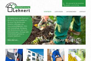 Website Referenz Objektbetreuung Lehnert
