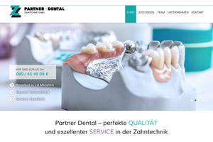 Website Referenz Partner-Dental