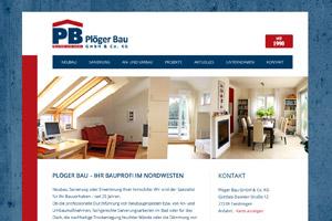 Website Referenz Plöger Bau