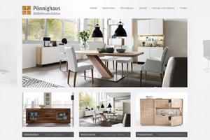 Website Referenz Pönnighaus