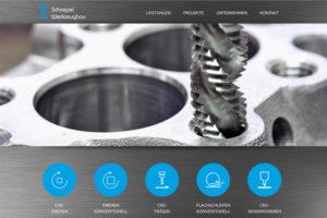 Website Referenz Schnepel Werkzeugbau