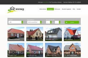 Website Referenz S+K Hausbau
