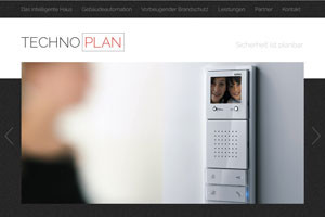 Website Referenz Technoplan Gebäudetechnik