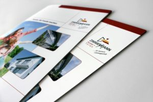 Zimmermann Fenster + Türen Broschüre Referenz
