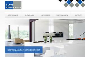 Webdesign Referenz Zimmermann Fliesenarbeiten